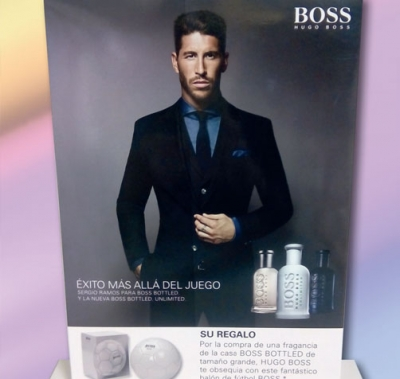Expositores Hugo Boss